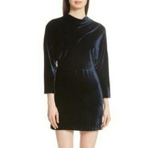 A.L.C. MARIN VELVET DRESS.